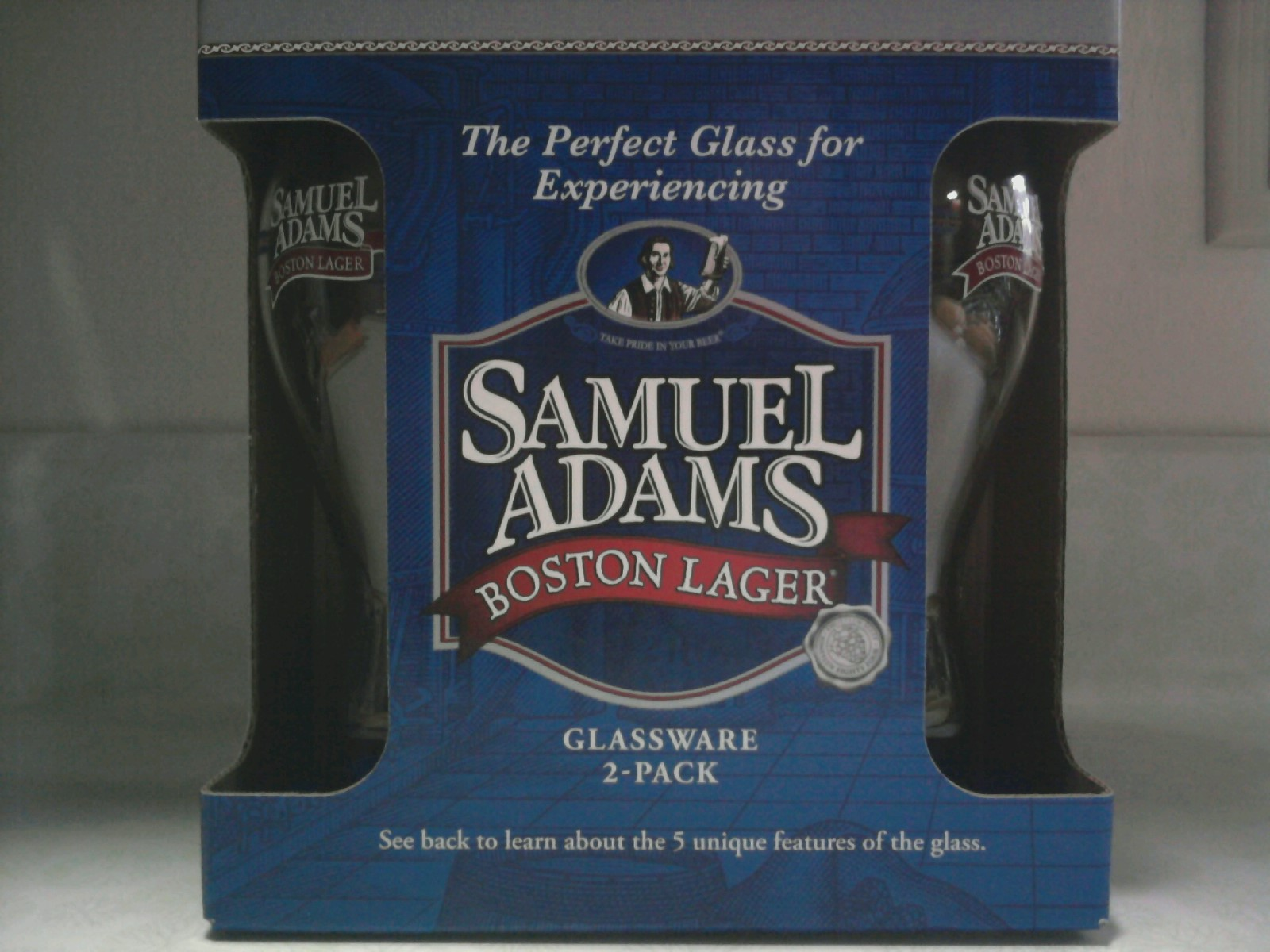 Samuel Adams Glasses For Sale at Retail StoresSamuel Adams Beer Glass