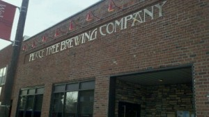 Outside of Peace Tree Brewing